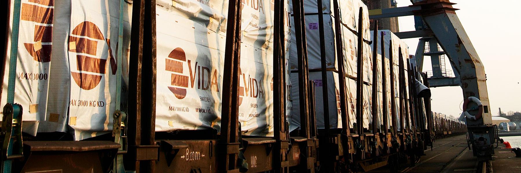 Vida's logistics system