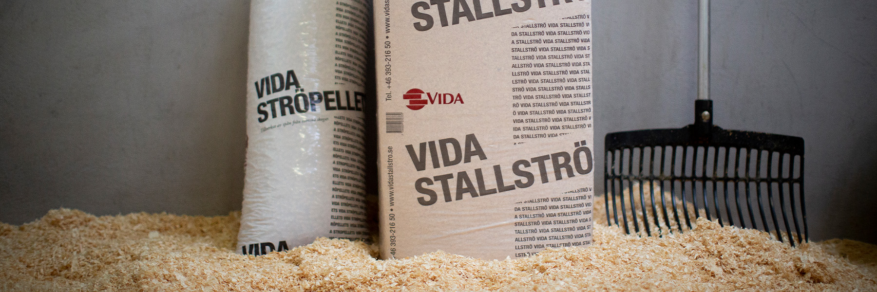 Vida Stable Bedding and Vida Stable Pellets